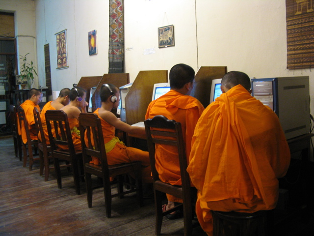 Thai internet cafe