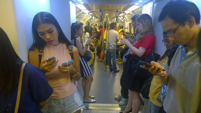 Thai smartphone addiction