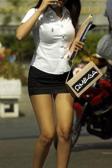 Thai university uniform 1