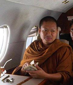 corrupt Thai monk