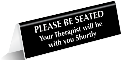 Therapist sign