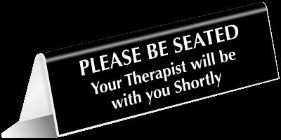 Therapist sign
