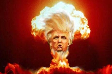 Trump nuke head