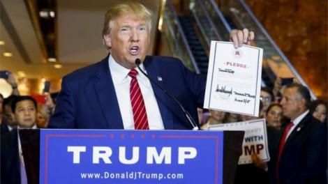 Trump Republican Party pledge