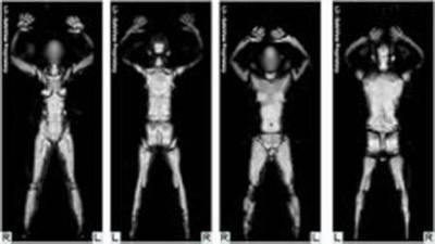 airport body scan search