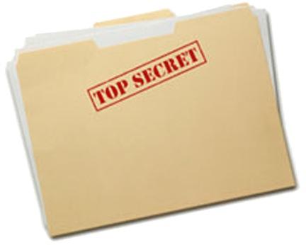 folder top- ecret