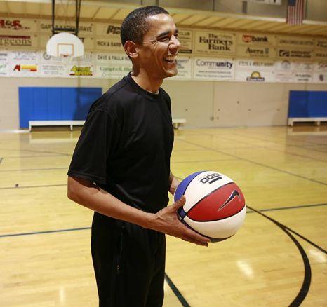 Barack Obama macho look