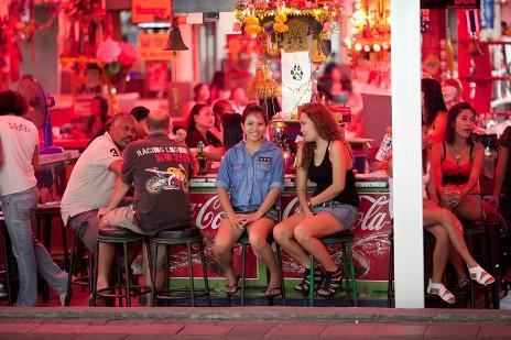 Pattaya open air bar