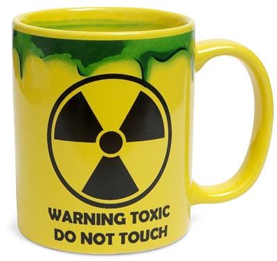 Toxic tea mug